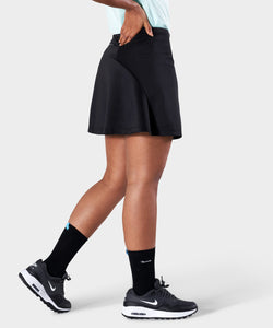 Black AR Tech Skort