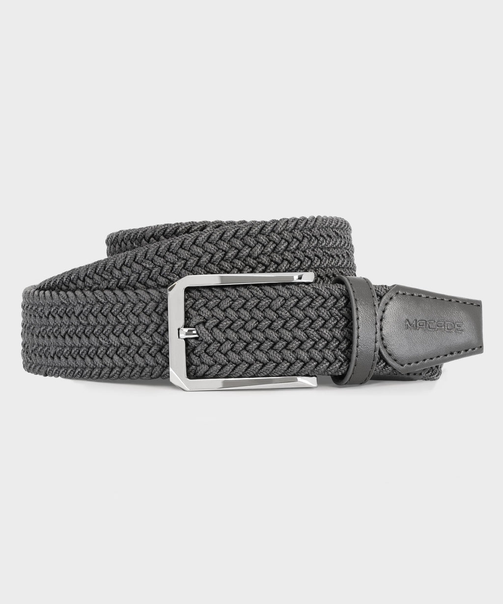 Men's Elastic Grey Belt
