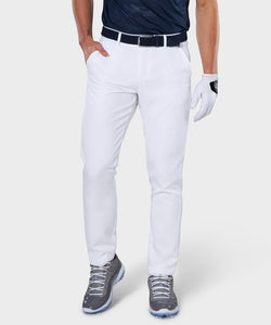 White Link Stretch Trouser