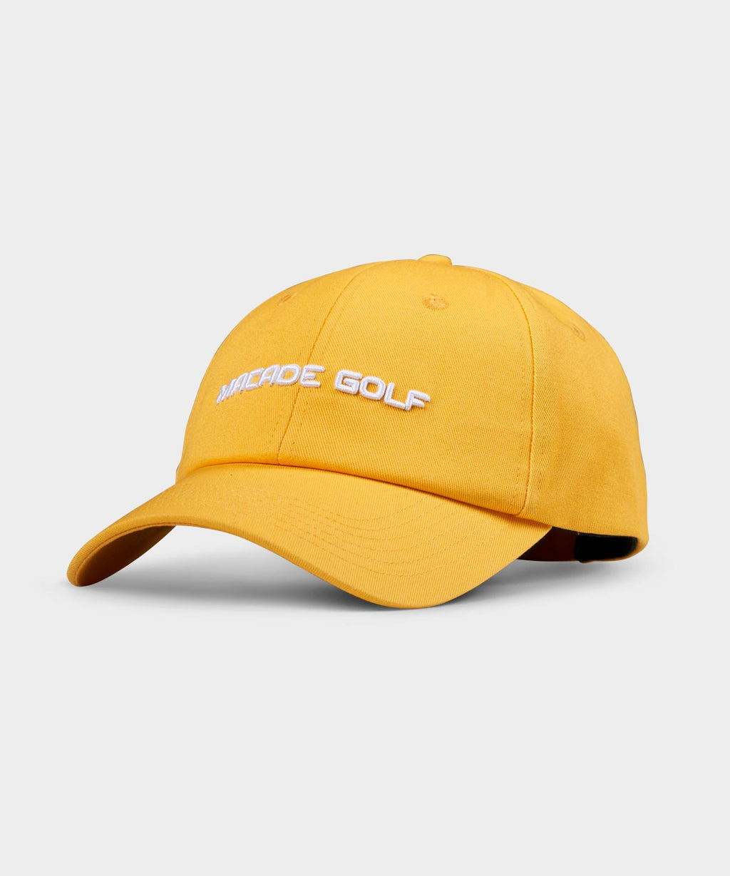 Yellow Cotton Strapback
