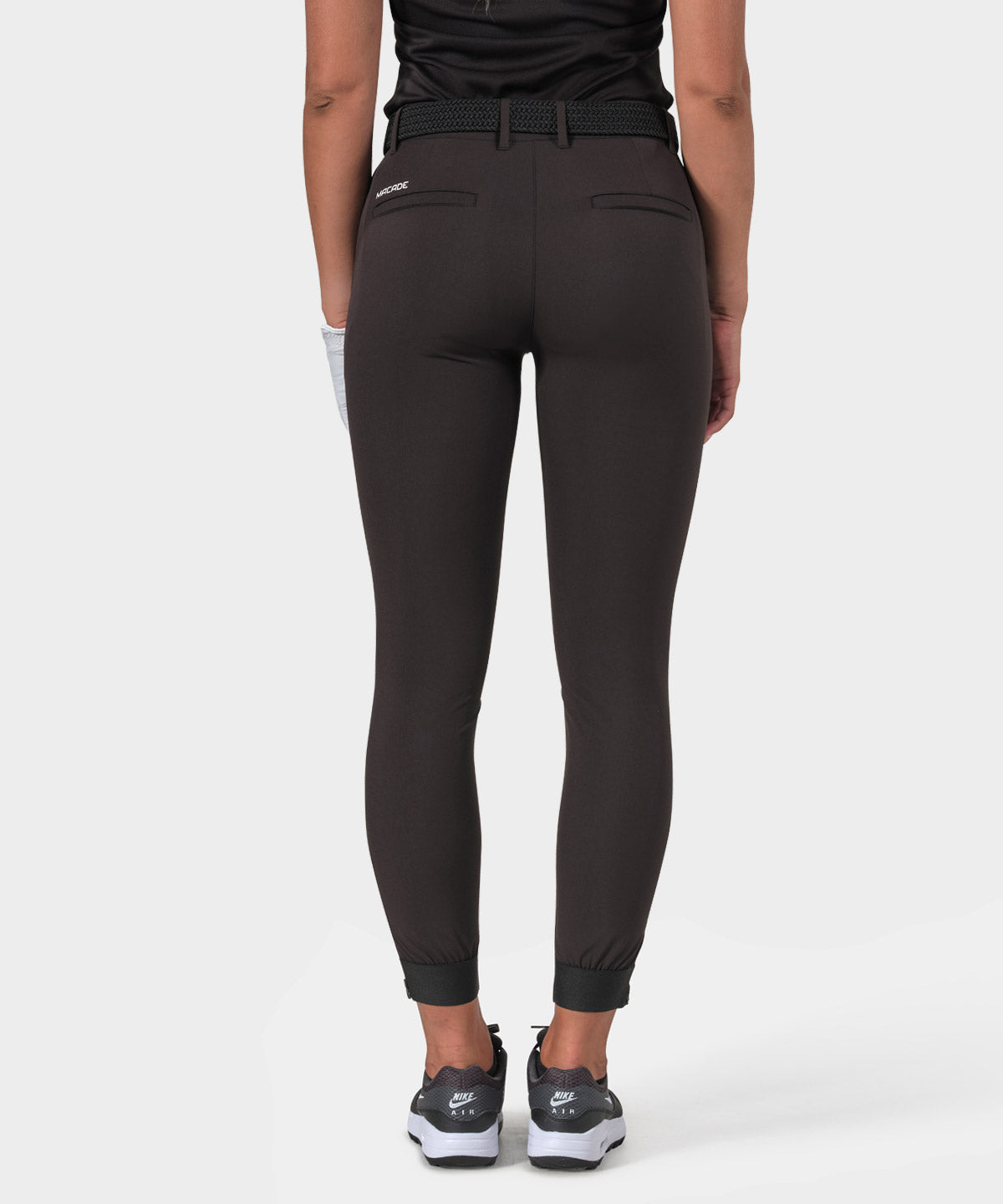 Charcoal Four-Way Stretch Jogger