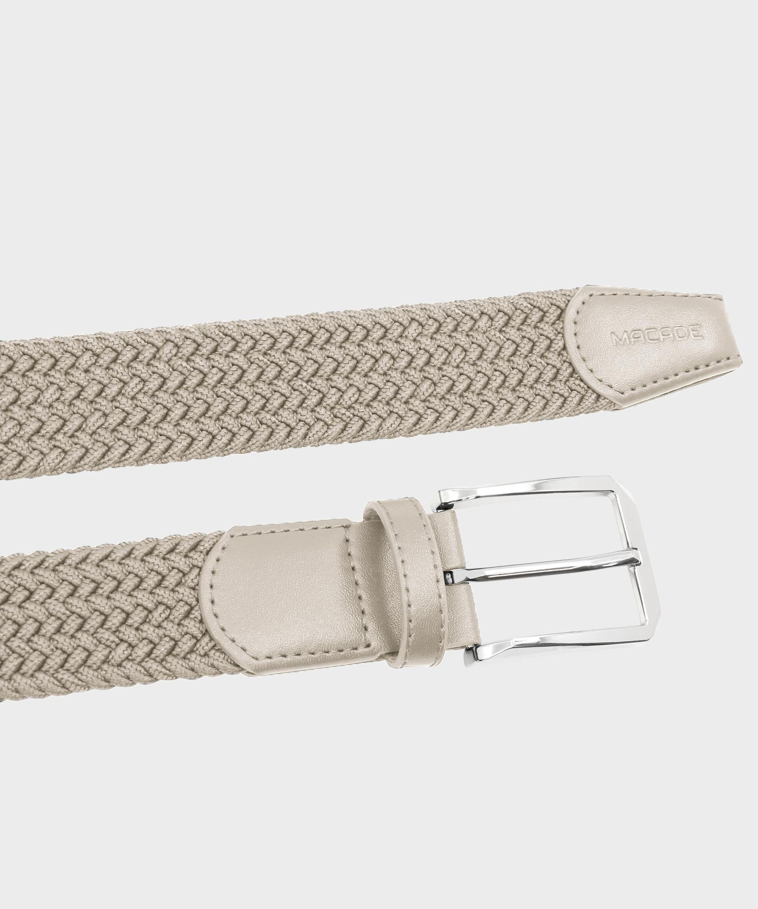 Men's Elastic Tan Belt