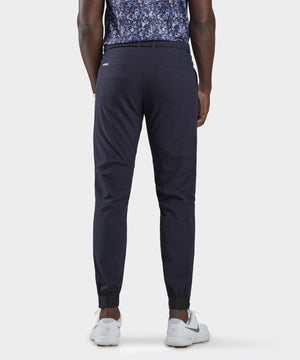 Navy Four-Way Stretch Jogger