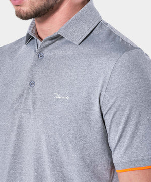 Light Grey Club Polo Shirt