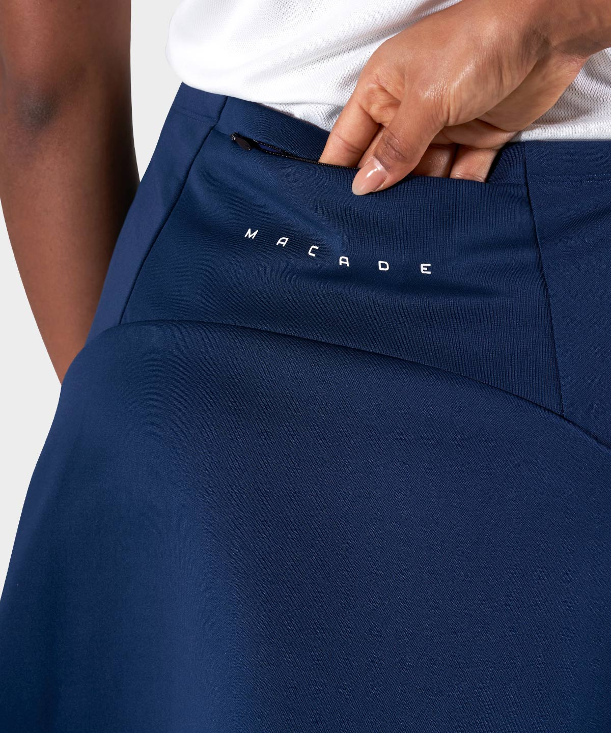 Dark Blue AR Tech Skort