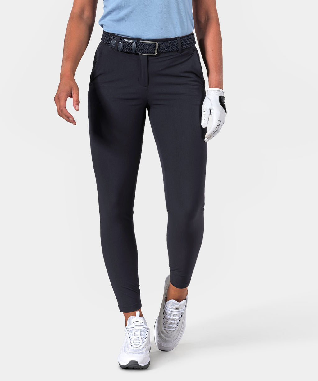 Dark Blue Four-Way Stretch Jogger