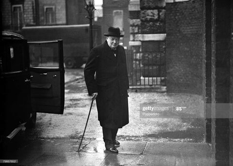 Winston Churchill walking cane