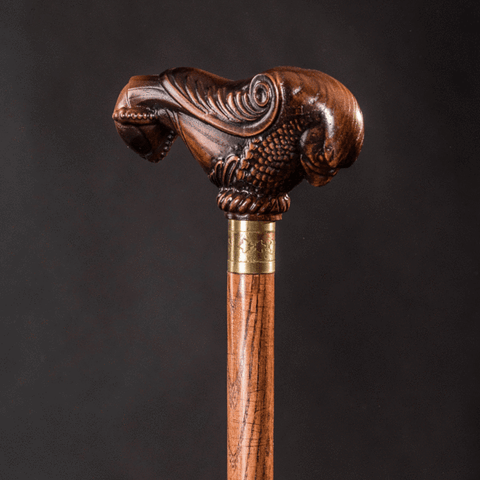 Decorative walking canes bird