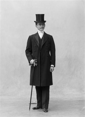gentleman with cane
