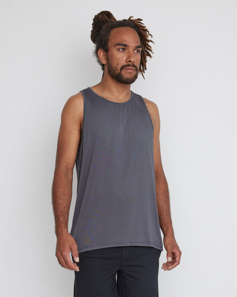 Waipu Singlet | Grey | Men