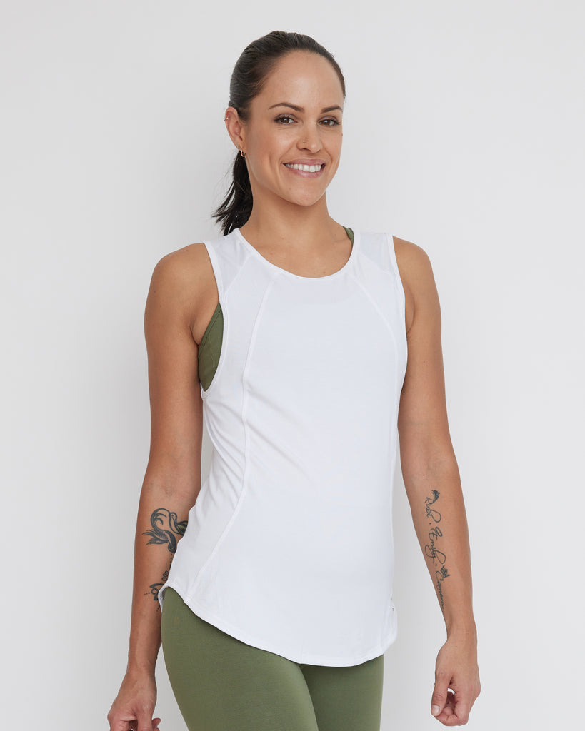 Flow Top | White| Women