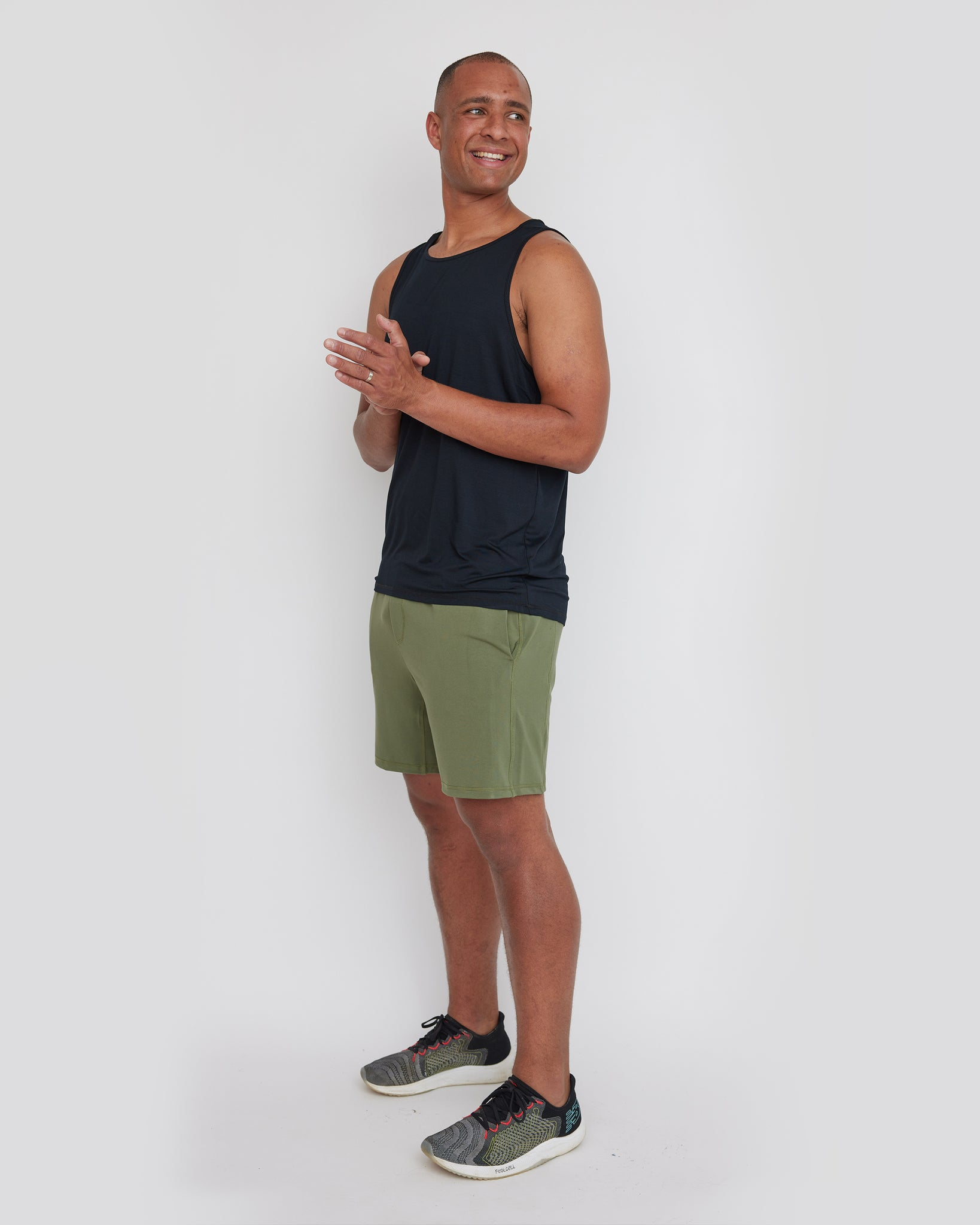 Waipu Singlet | Black | Men
