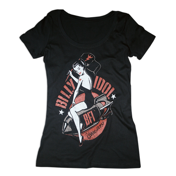 Vegas 19' Pin Up Women's Tee