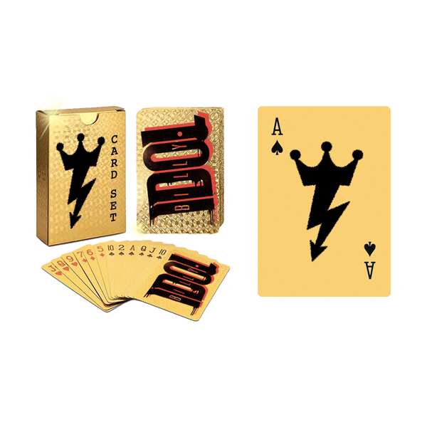 Shiny Gold Logo Playing Cards