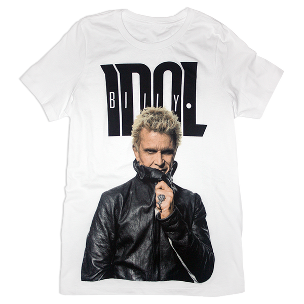 Ladies Billy Idol Photo Tee