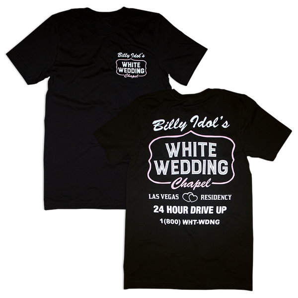White Wedding Chapel Tee
