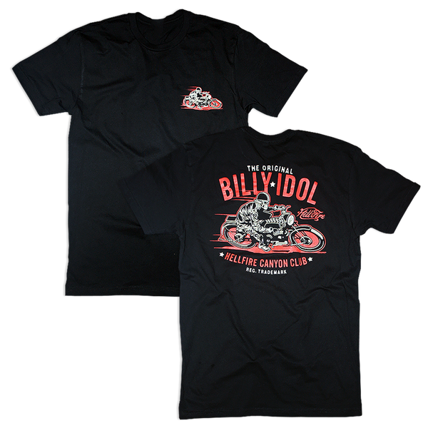 The Original Hellfire Canyon Club Red Tee