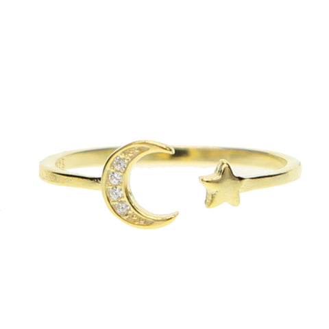 GOLD VENUS RING