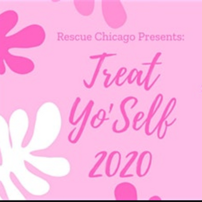Treat Yo'Self event with Rescue Chicago