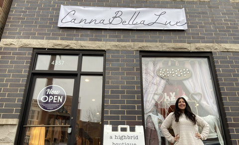 Canna Bella Lux in Lincoln Square, Chicago. Shop local; support small business owners.