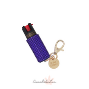 Pepper Spray- Purple Rhinestone