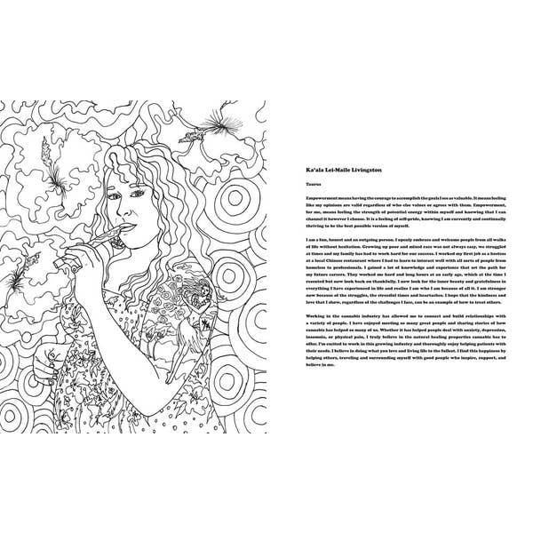 The Stoner Babes Coloring Book