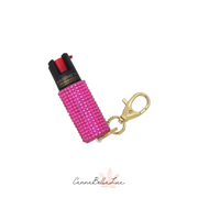 Pepper Spray- Pink Rhinestone