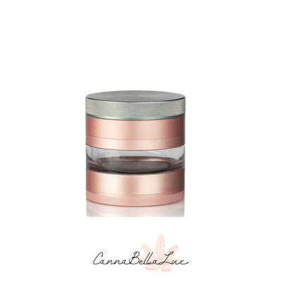 "Kannastor 2.2"" 4pc Grinder- Rose Gold"