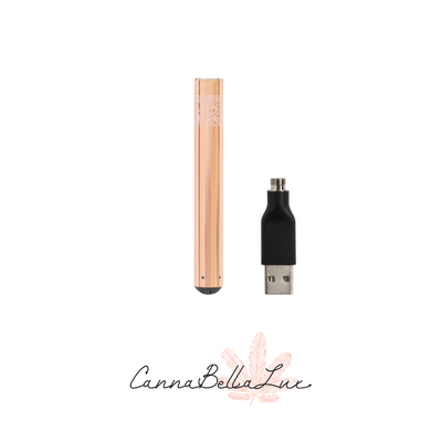 Blooms Farm Rose Gold Vapor Battery