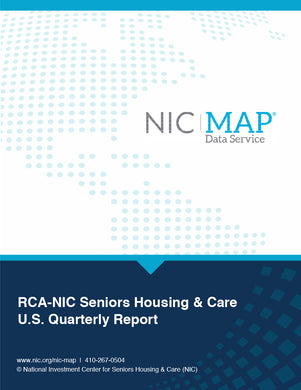 3Q20 RCA-NIC Seniors Housing & Care U.S. Quarterly Report