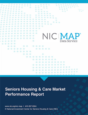 3Q20 NIC MAP Seniors Housing & Care Market Performance Report