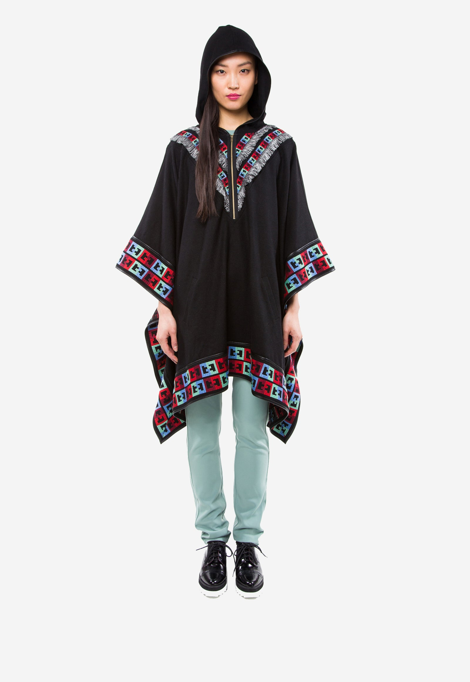 Gypsy Embroidered Poncho