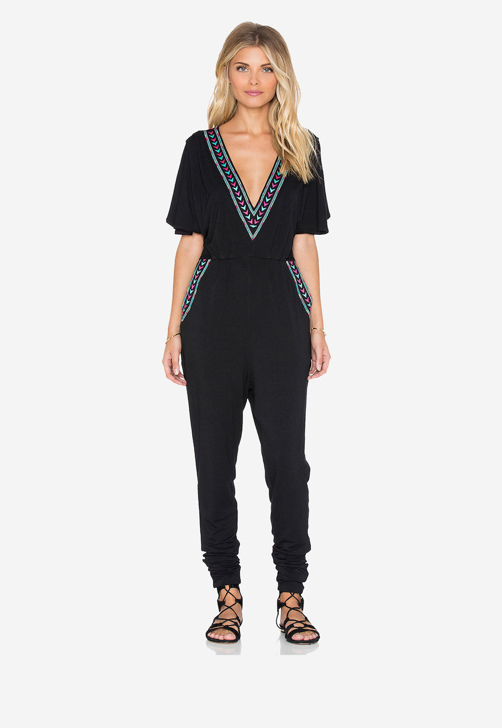 Big Sur Embroidered Jumpsuit