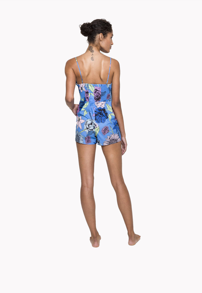 Floral Cover Romper