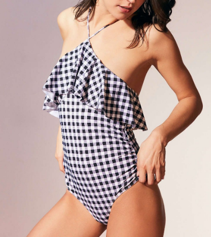 Gingham Swimsuit One Piece