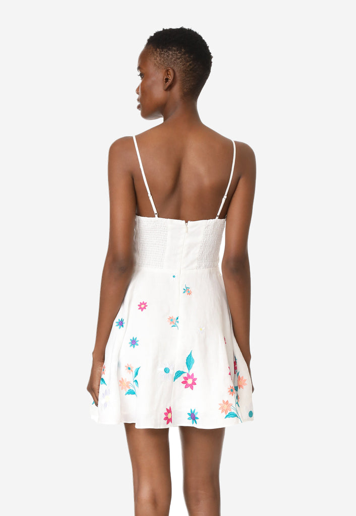 Boathouse Embroidered Dress