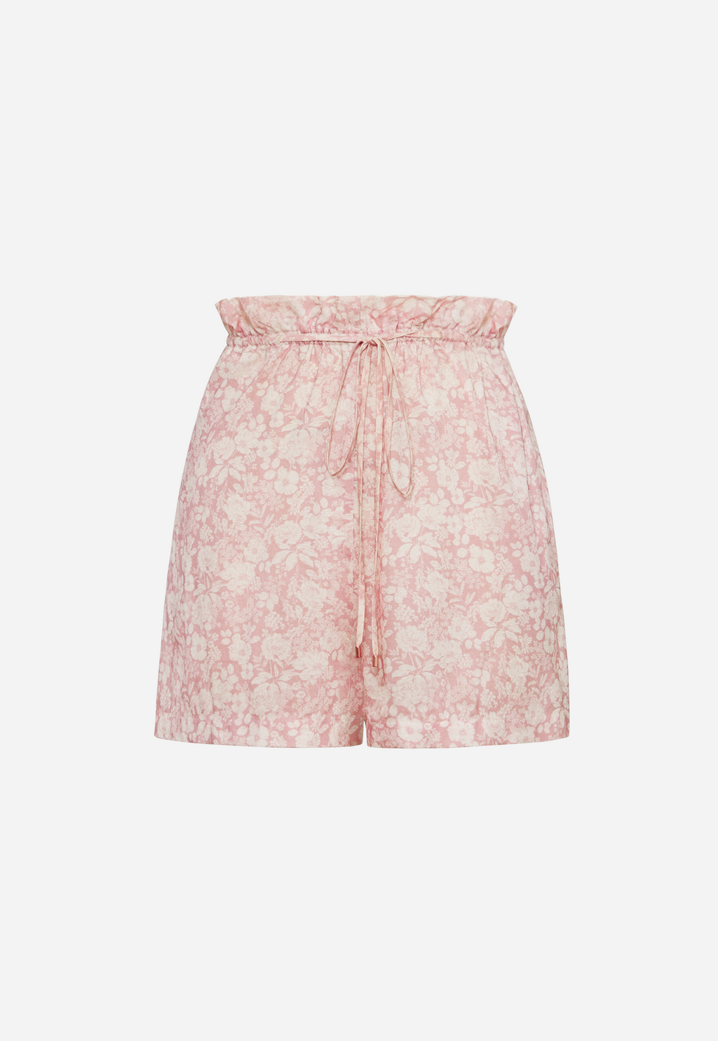 6 Shore Road Dockyard Women's High Waist Pink Floral Shorts in XS, S, M, L - Summer 2018 Collection