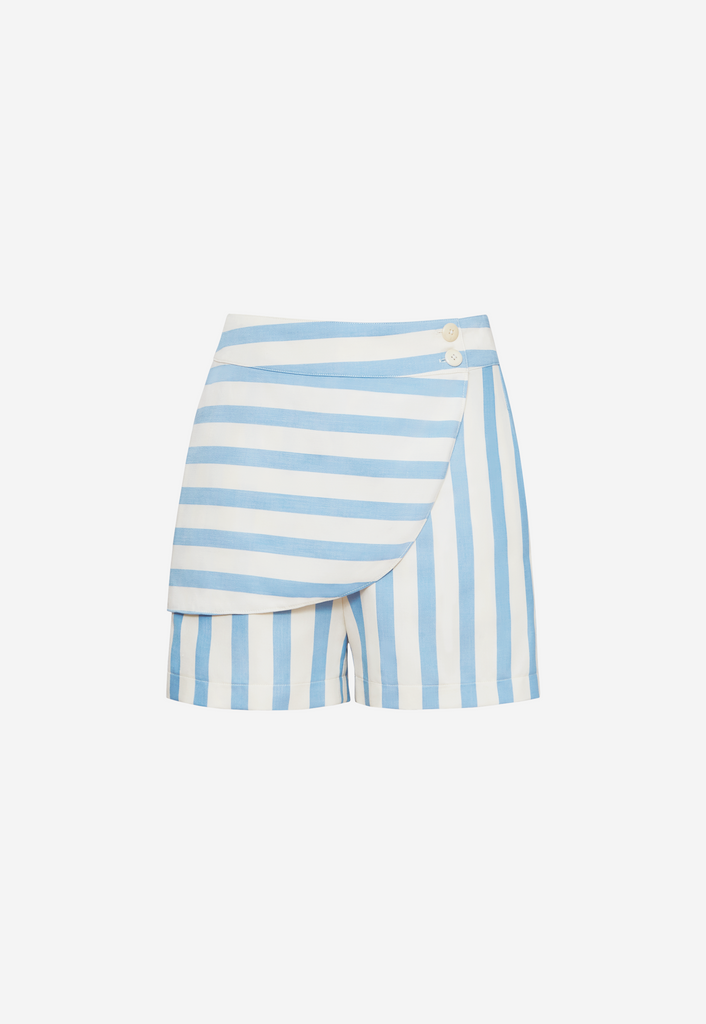 6 Shore Road Maritime Short Women's Blue Striped Short in 0,2,4,6,8,10,12 - Summer 2018 Collection