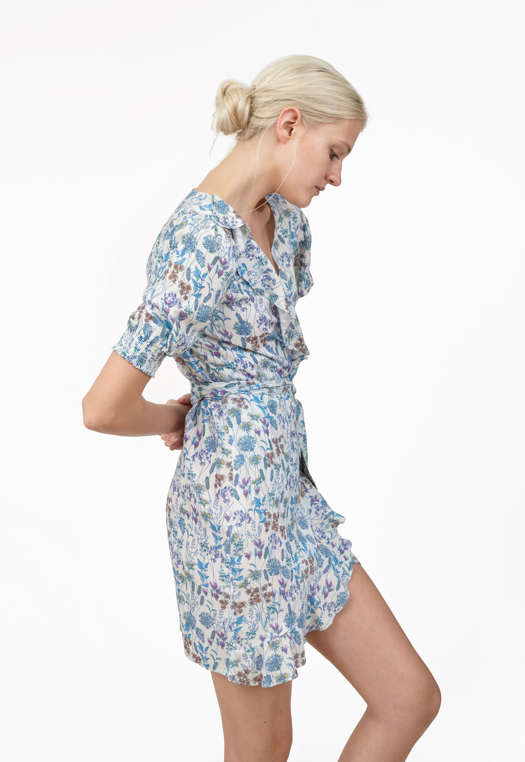 6 Shore Road Sea Ripple Wrap Dress Floral Dress in 0,2,4,6,8,10,12 - Summer 2018 Collection