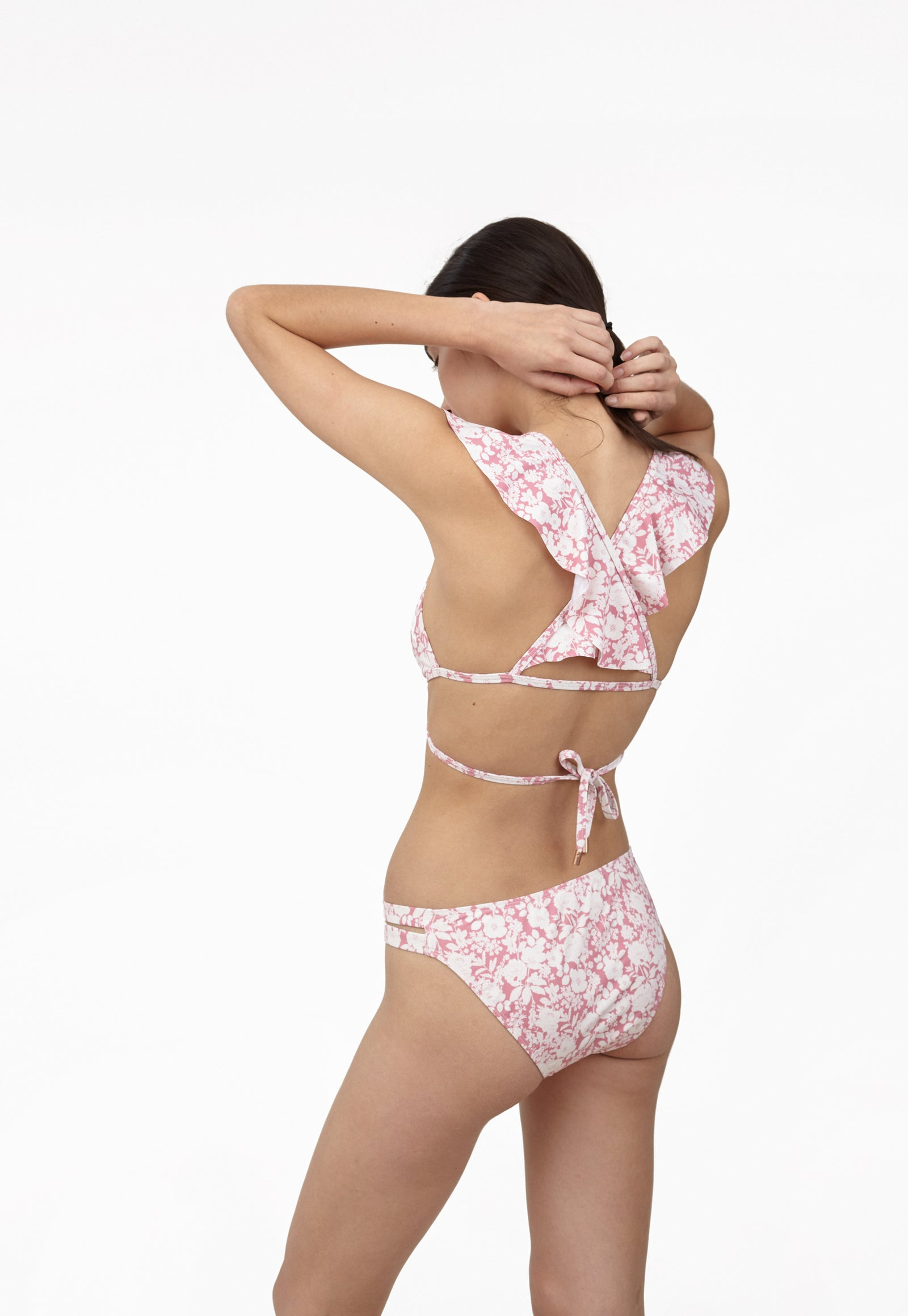 6 Shore Road Beach Wave Women's Pink Floral Swimsuit Bikini in XS, S, M, L - Summer 2018 Collection