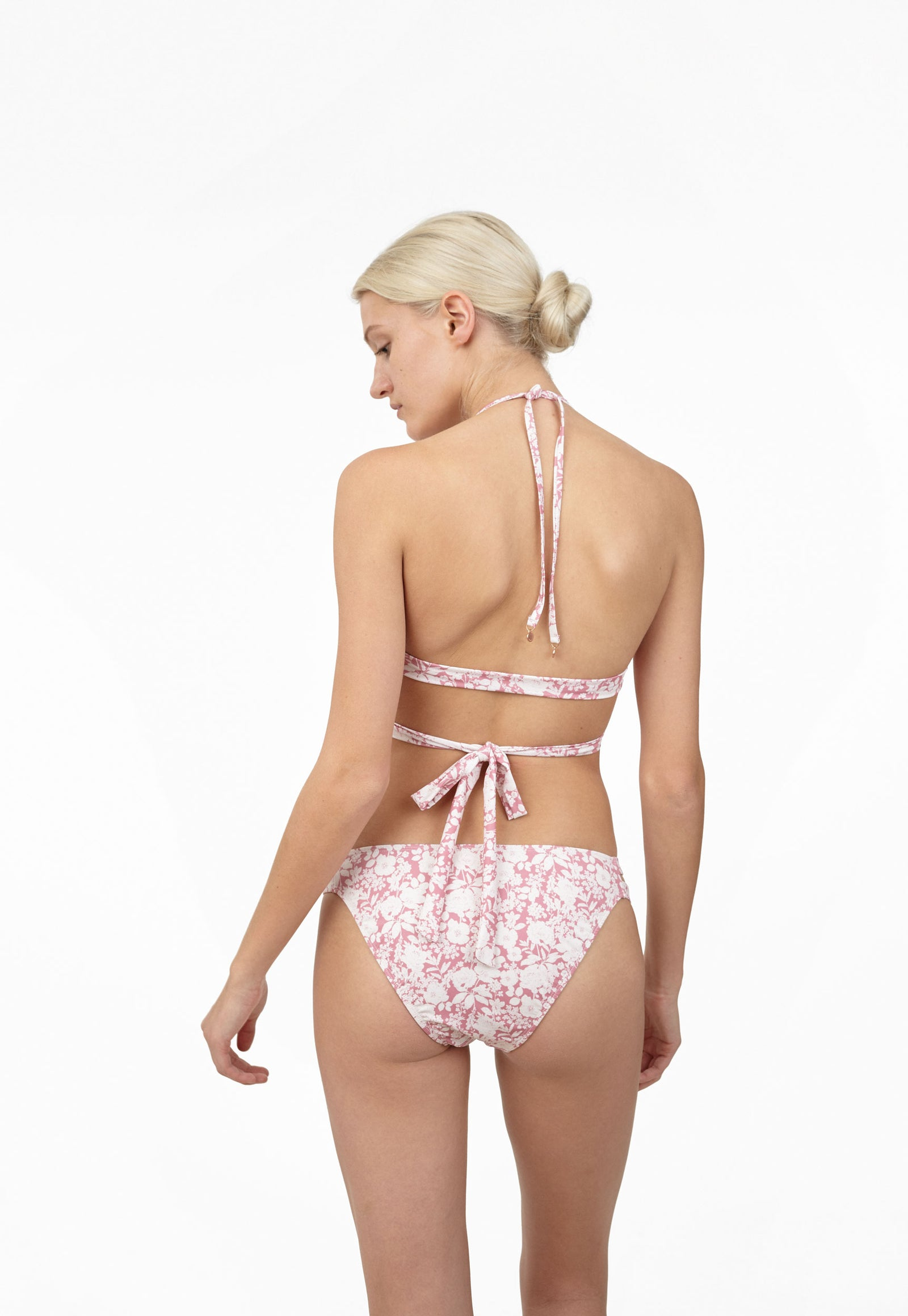 6 Shore Road Rodeo Halter Pink Floral Bikini in XS, S, M, L - Summer 2018 Collection
