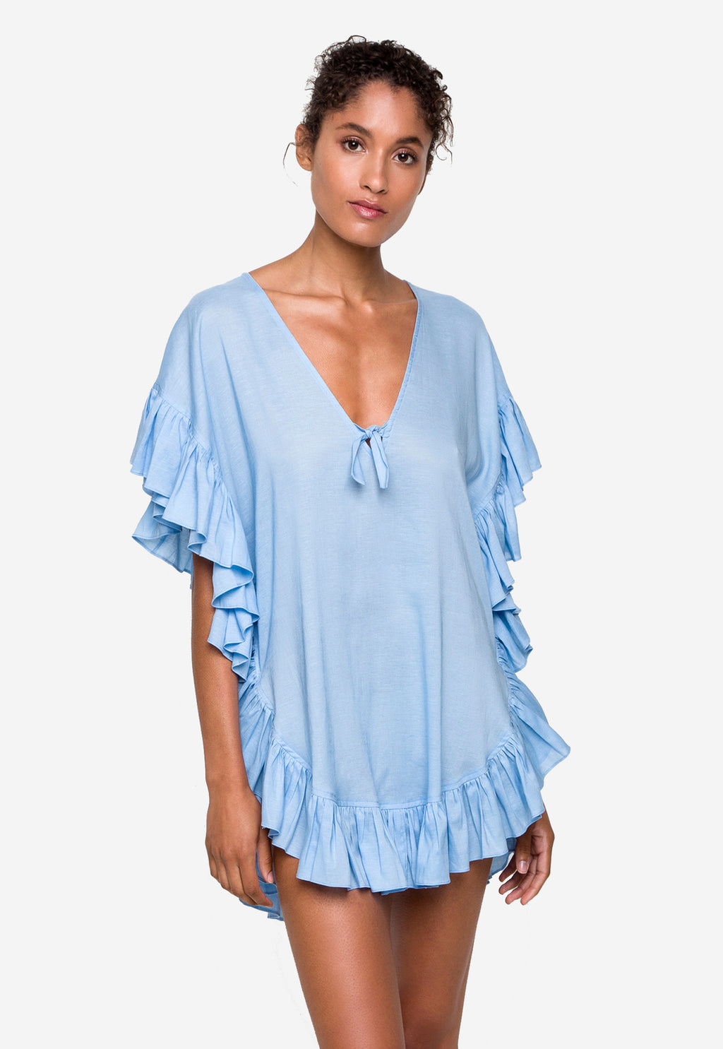 Whiteshore Linen Coverup