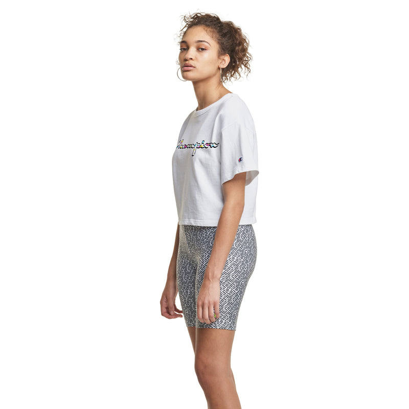 Limited Edition Champion x MTV Logo Cropped Tee