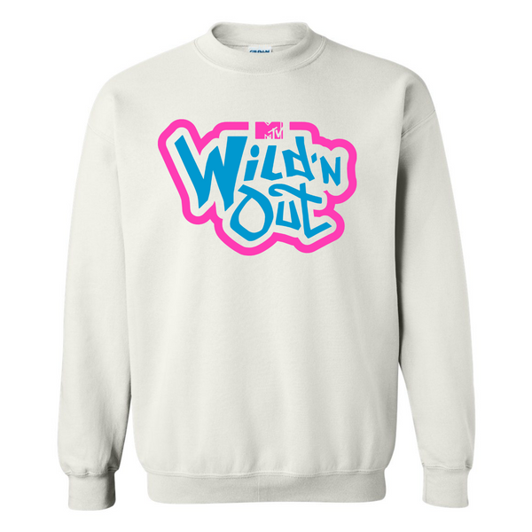 Wild 'N Out Neon New School Adult Crew Neck Sweatshirt