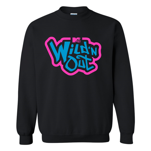 Wild 'N Out Neon Old School Adult Crew Neck Sweatshirt
