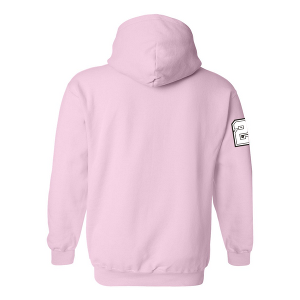 Wild 'N Out Logo Light Pink Hooded Sweatshirt