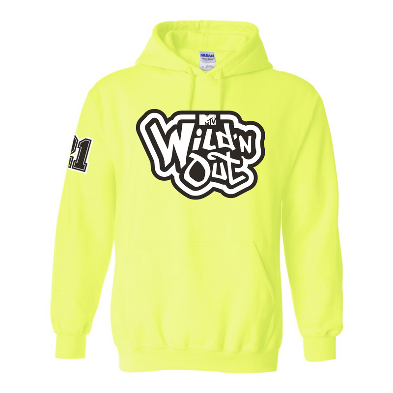 Wild 'N Out Logo Neon Green Hooded Sweatshirt