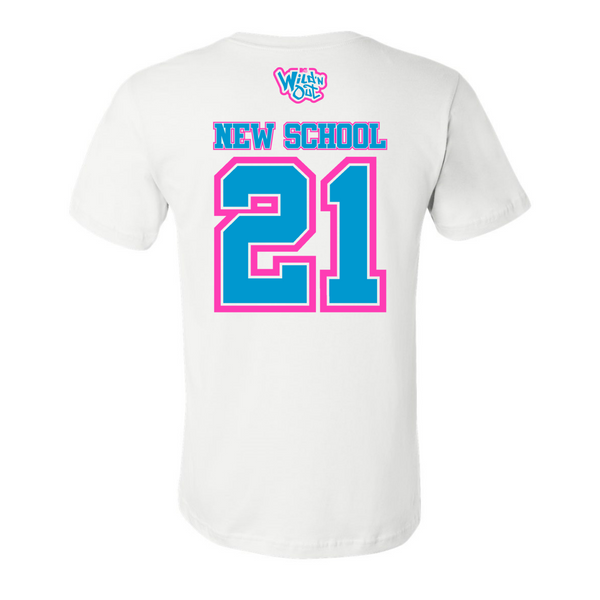 Wild 'N Out Neon New School Adult Short Sleeve T-Shirt