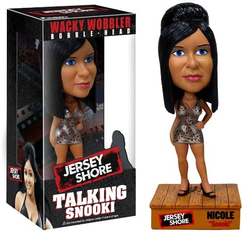 Jersey Shore Funko Snooki Talking Bobblehead
