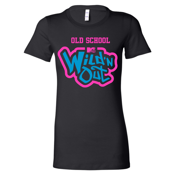Wild 'N Out Neon Old School Women's Long Body Short Sleeve T-Shirt